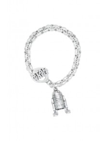 BRACELET R2D2 CHAIN STAR WARS