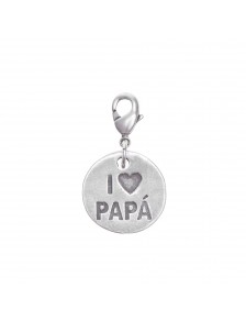 Charm plaque papa