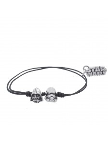 Pulsera Trooper & Darth Vader Star Wars (Personajes S)