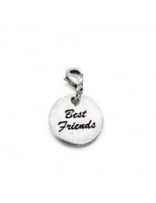 Charm plaque best friends