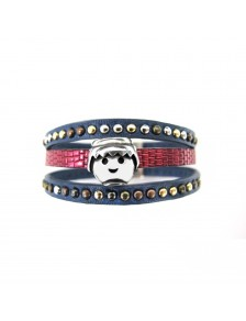 PULSERA PUNK TRIPLE
