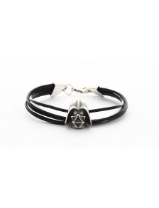 Bracelet Darth Vader cuir Star Wars