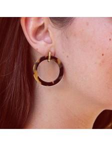 Boucles d'oreilles Carey LAF