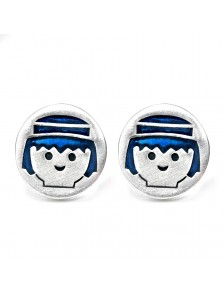Pendientes Dallas Playmobil