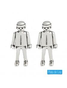 Pendientes Esencia Playmobil