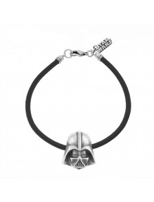 BRACELET DARTH VADER RUBBER STAR WARS