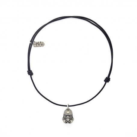 TROOPER LEATHER NECKLACE