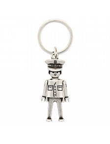 Porte-clés Policía Playmobil